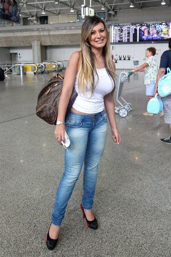 Andressa Urach tight - Google Search   Fashion, Skinny