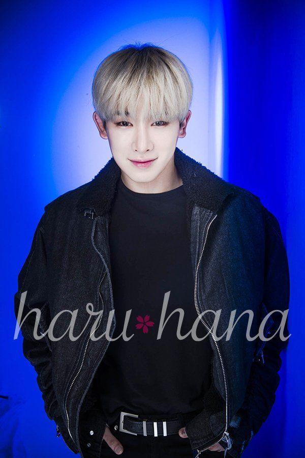 """MONSTA X Wonho for Haru Hana magazine Vol. 41"""