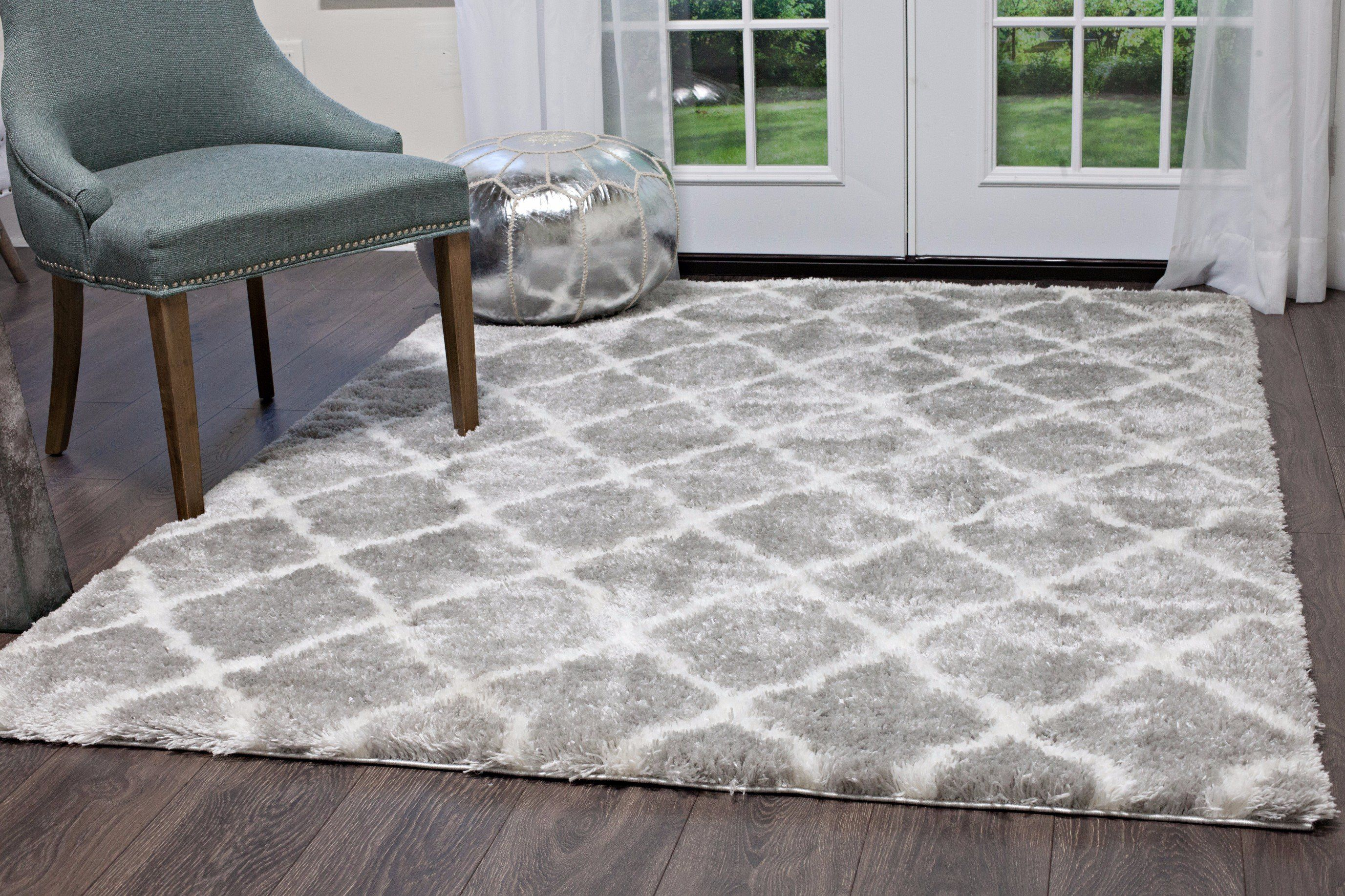 Carmela Shag Rug 3662 45 Rugs On Carpet Grey Carpet