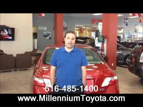 Michael Ostrow The Business Development Manager At Millennium Toyota In Hempstead New York Introduces Himself To Customers And Welcomes Them