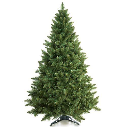 Prextex 6 Feet Premium Hinged Artificial Canadian Fir Christmas Tree Lightweight Easy To Assemble W Christmas Tree Stand Fir Christmas Tree Christmas Tree Sale
