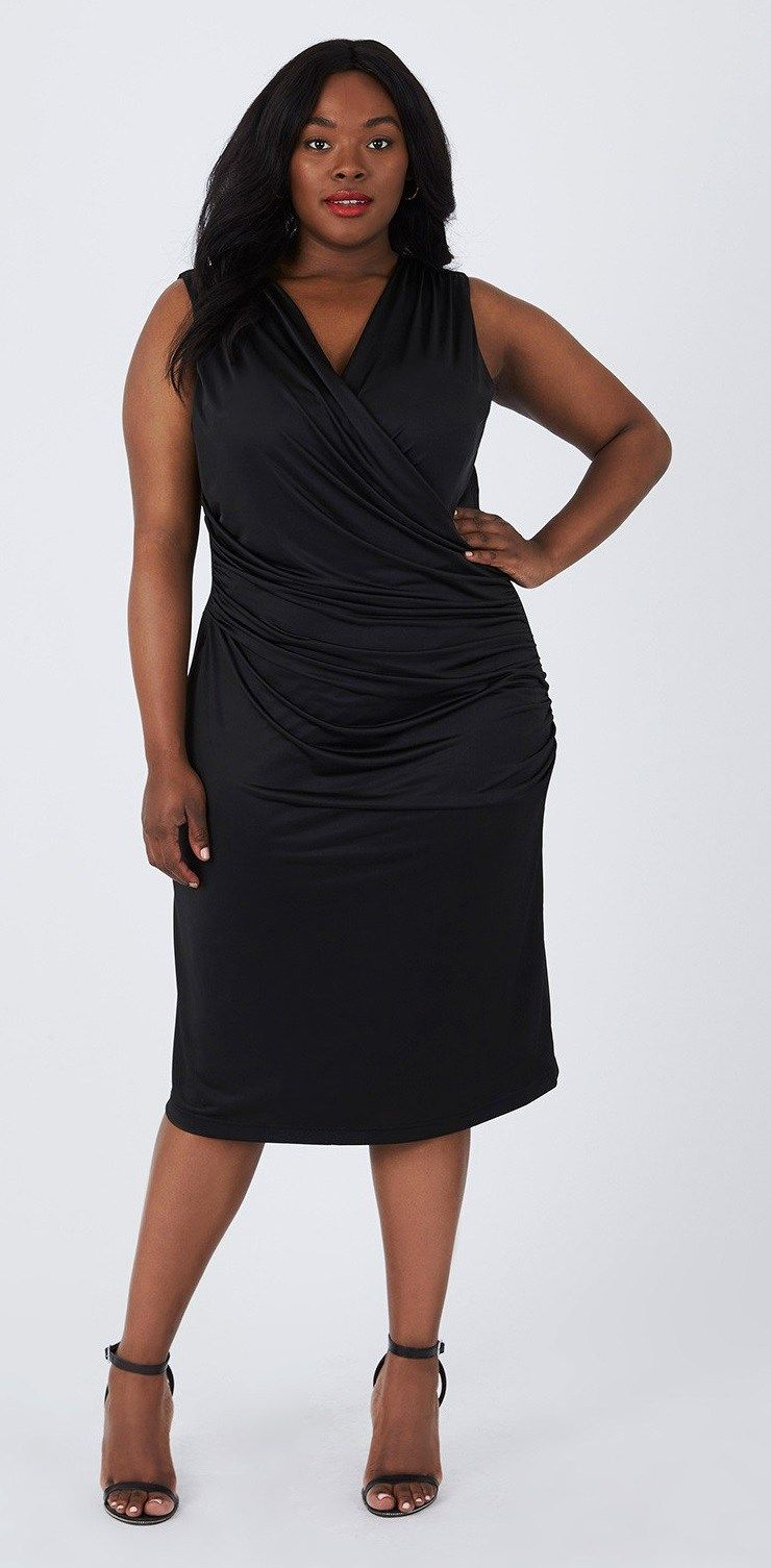 dd17ced82ca Plus Size LBD - Plus Size Little Black Dress - Plus Size Holiday Dress   plussize