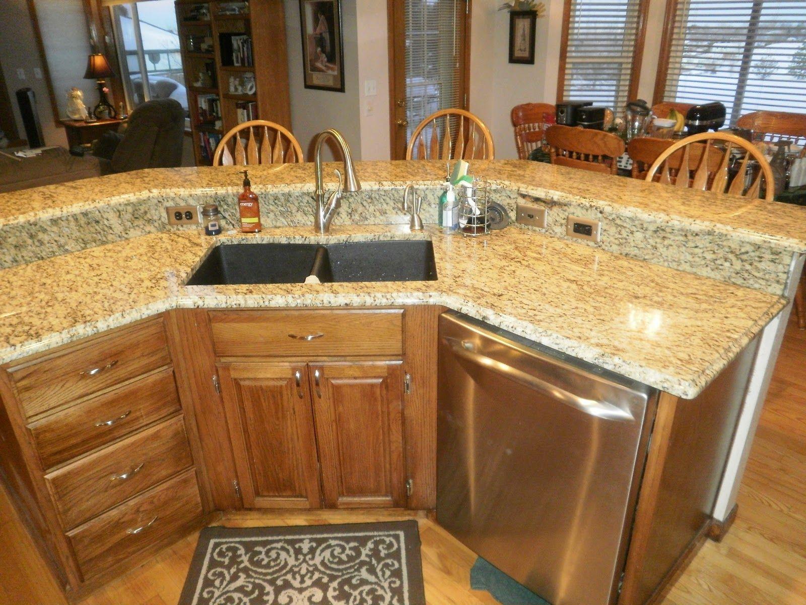 Granite Countertops and Tile Backsplash in Mesa View