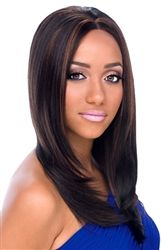 Pretty wig very natural relaxed lace front