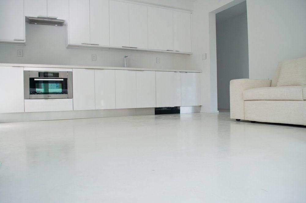 Perfect concrete floors miami fl united states white for Perfect concrete floors