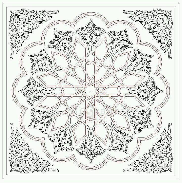 arabische muster malvorlagen zum ausdrucken  aglhk