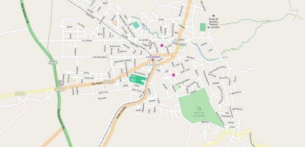 Mapa De Cordoba Capital.Mapa De La Cumbre Con Calles Principales En 2019 Mapas