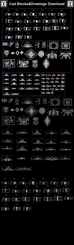 Architecture Decoration DrawingDecorative ElementsArchitecture