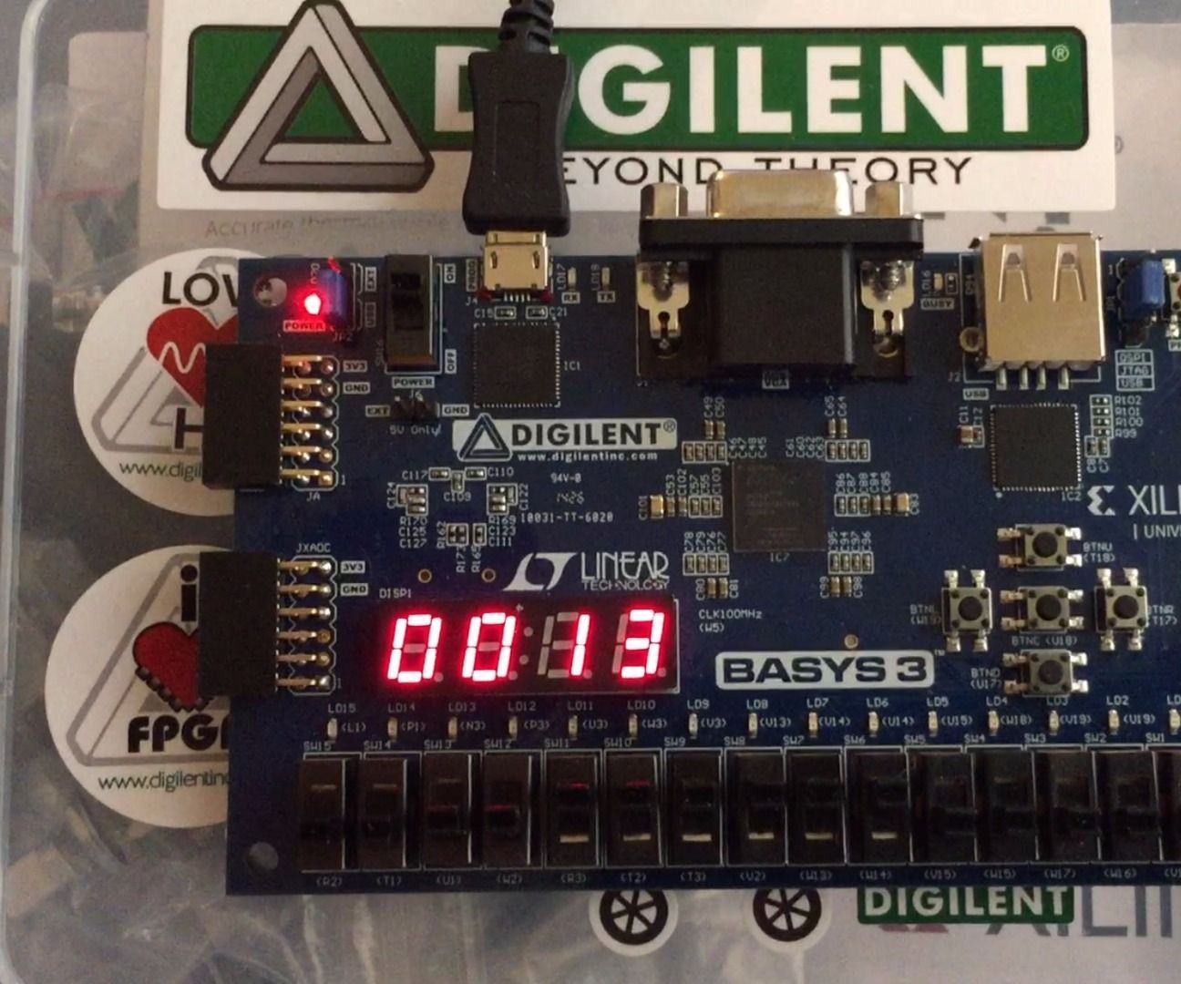 How to Use Verilog and Basys 3 to Do Stop Watch | Product