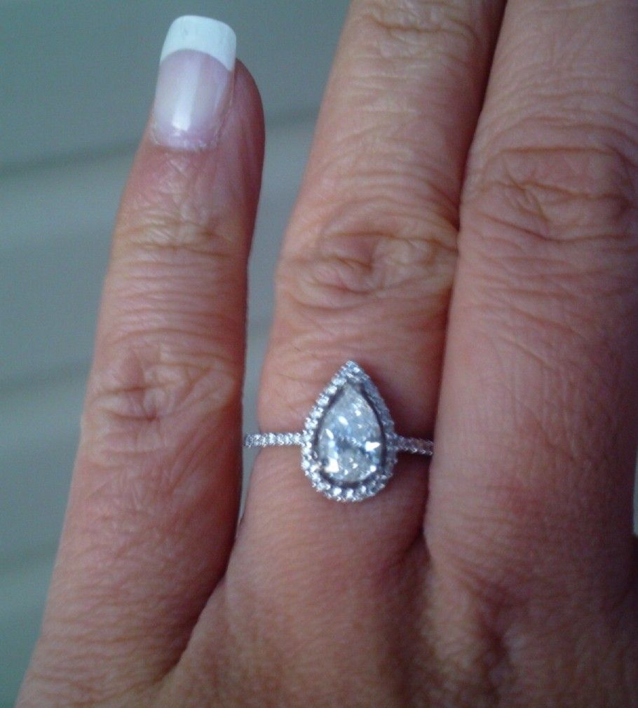 engagement amora solitaire asscher ever gem after rings this pin pinterest happily