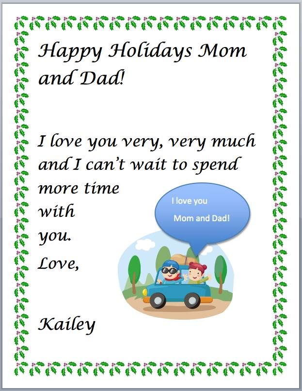 Happy Holidays Letter Computer class Pinterest Computer lab - holiday letter