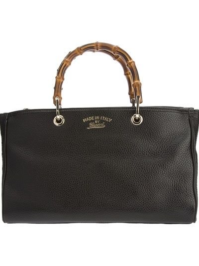 09d2964024b3 GUCCI - Bamboo shopper tote | Purses to Die For