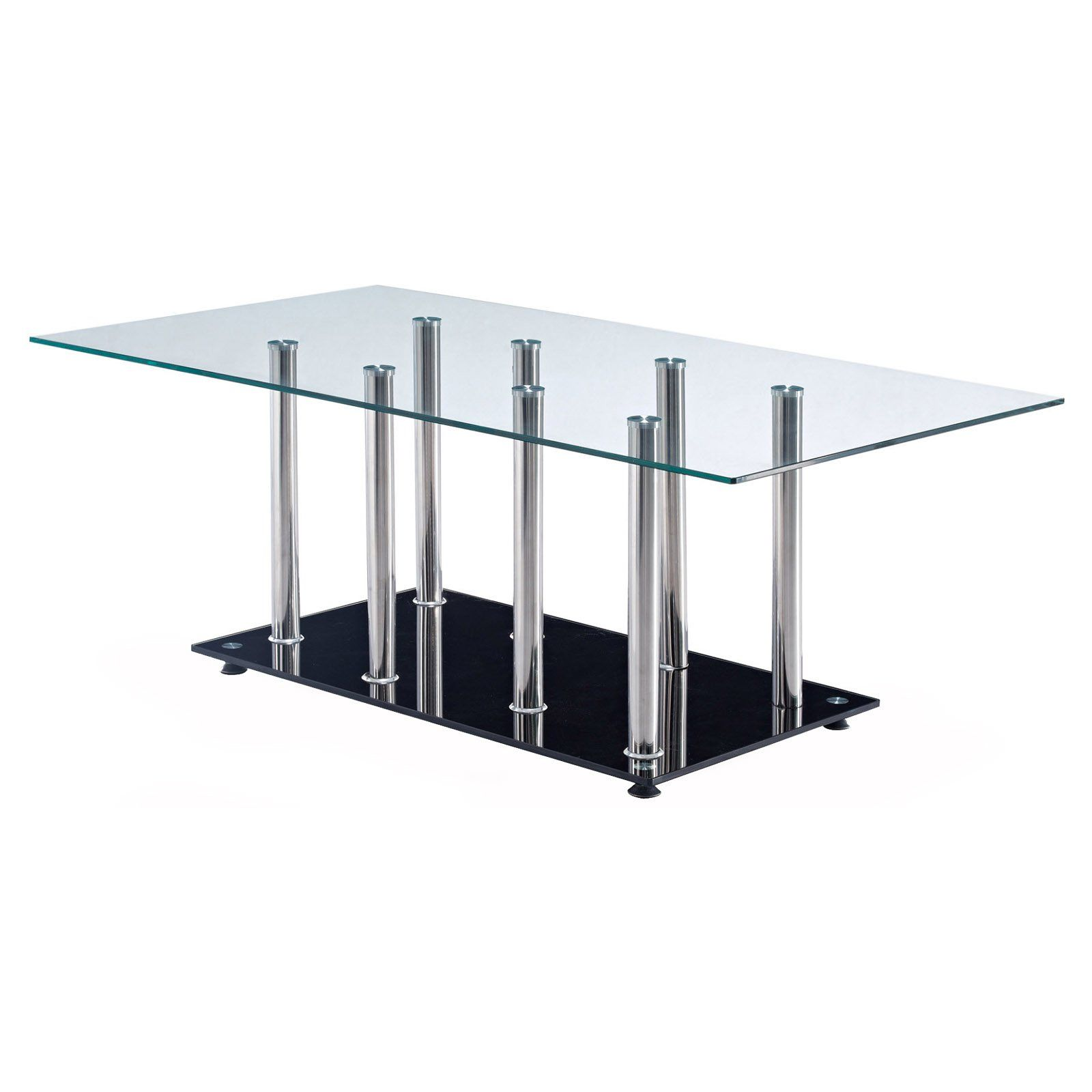 Have to have it Global Furniture Rectangle Stainless Steel Coffee