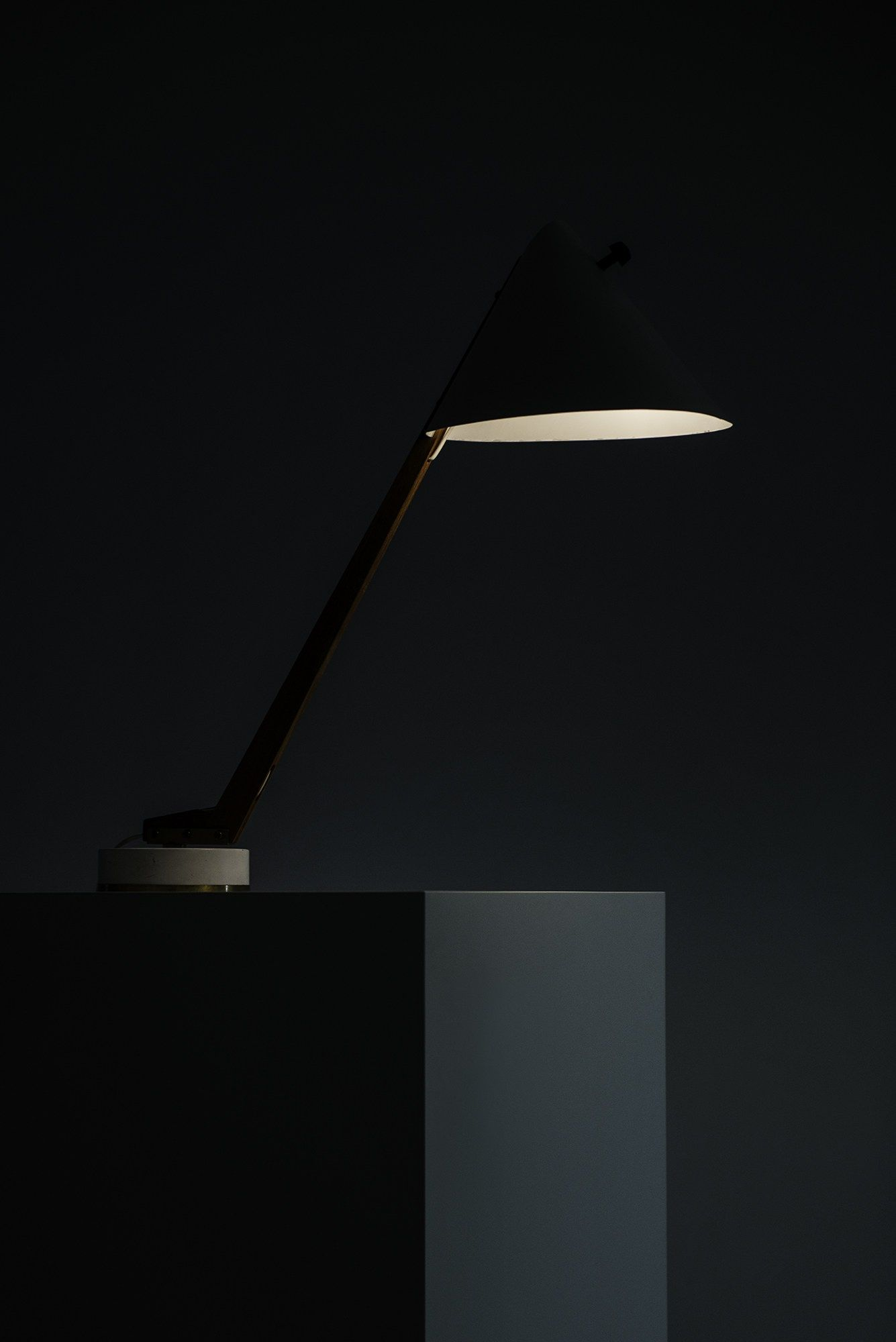 Hans-Agne Jakobsson table lamp model B-54 at Studio Schalling
