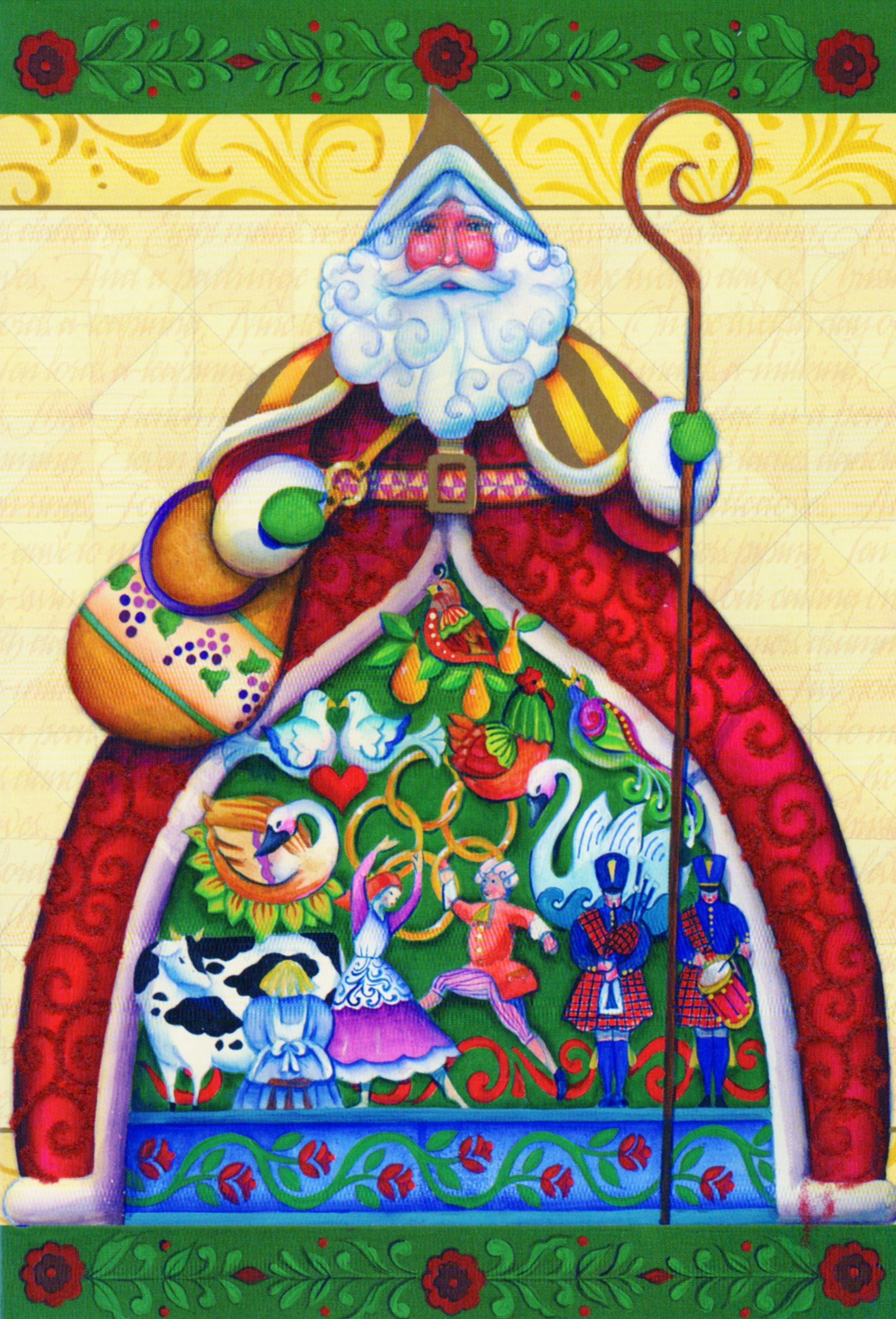 Jim Shore Christmas Card, 12 Days of Christmas   Jim shore ...