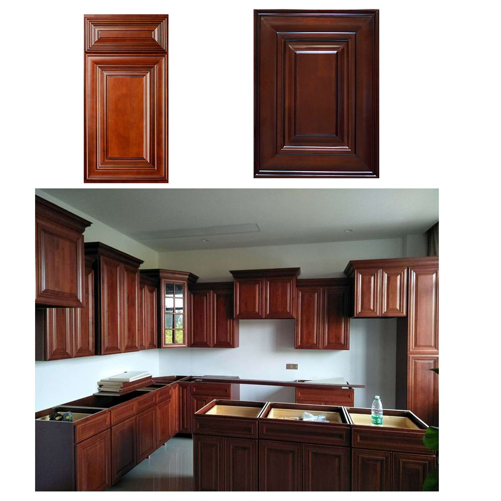 Pin By July Li Cabinetry Manufacturer On Alibaba Assembled Kitchen Cabinets Cherry Wood Kitchen Cabinets Cabinet