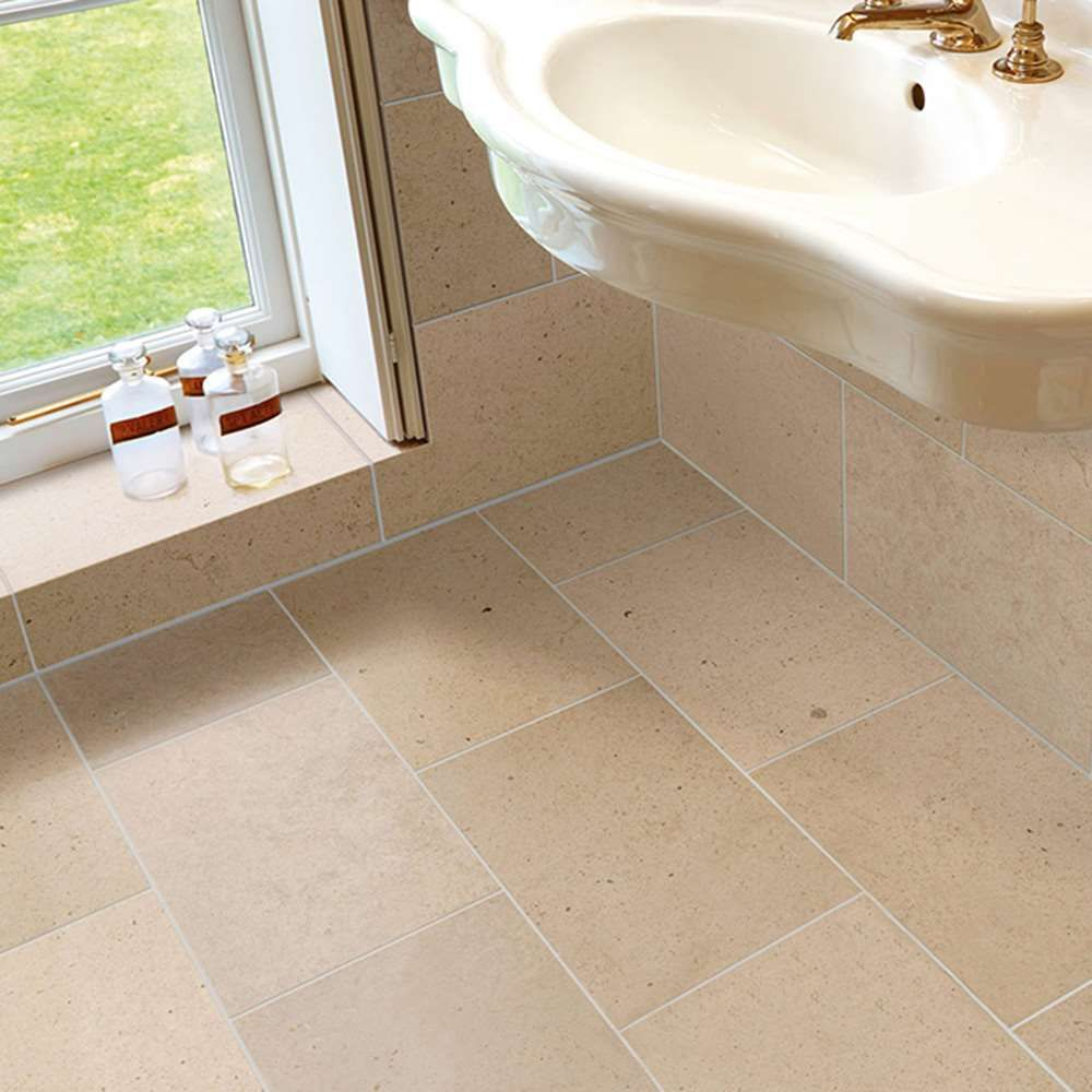 Moleanos Beige Limestone Floor U0026 Wall Tiles   Image 2 | Marshalls Tile And  Stone Interiors