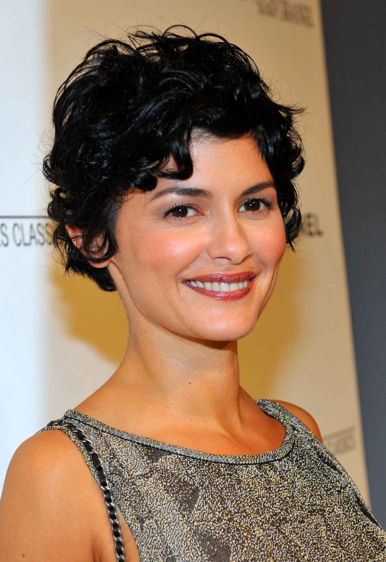 The best short cuts for thin curly hair audrey tautou thin curly