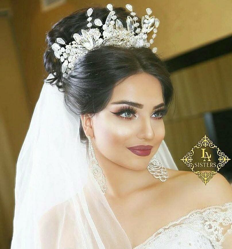 Black Wedding Hairstyles With Crown: Pin By Natalie Aldahondo On Wedding Dresses & Ideas