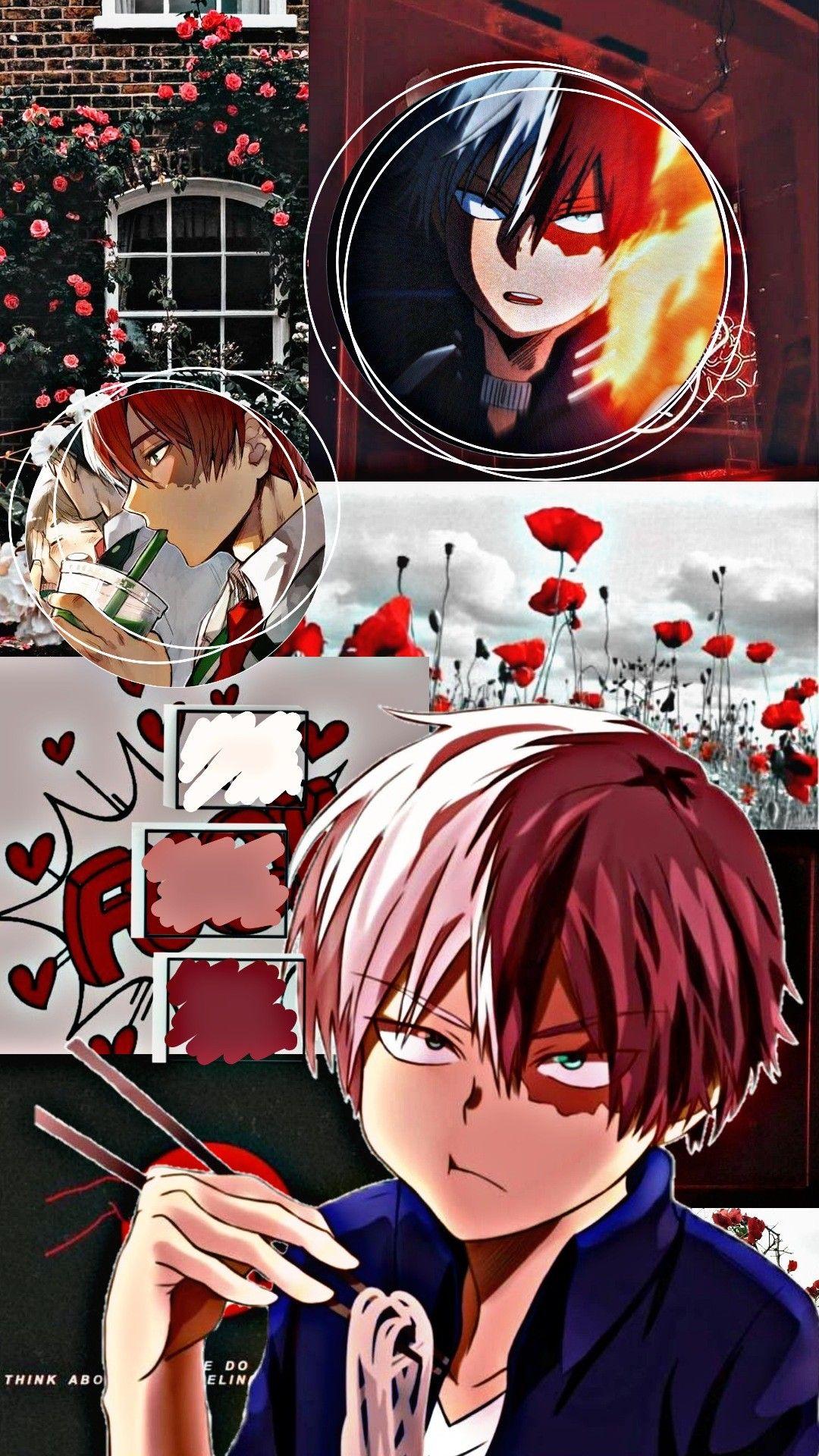 My Hero Academia Wallpaper Of Shoto Todoroki Wallpaper Anime Anime Wallpaper