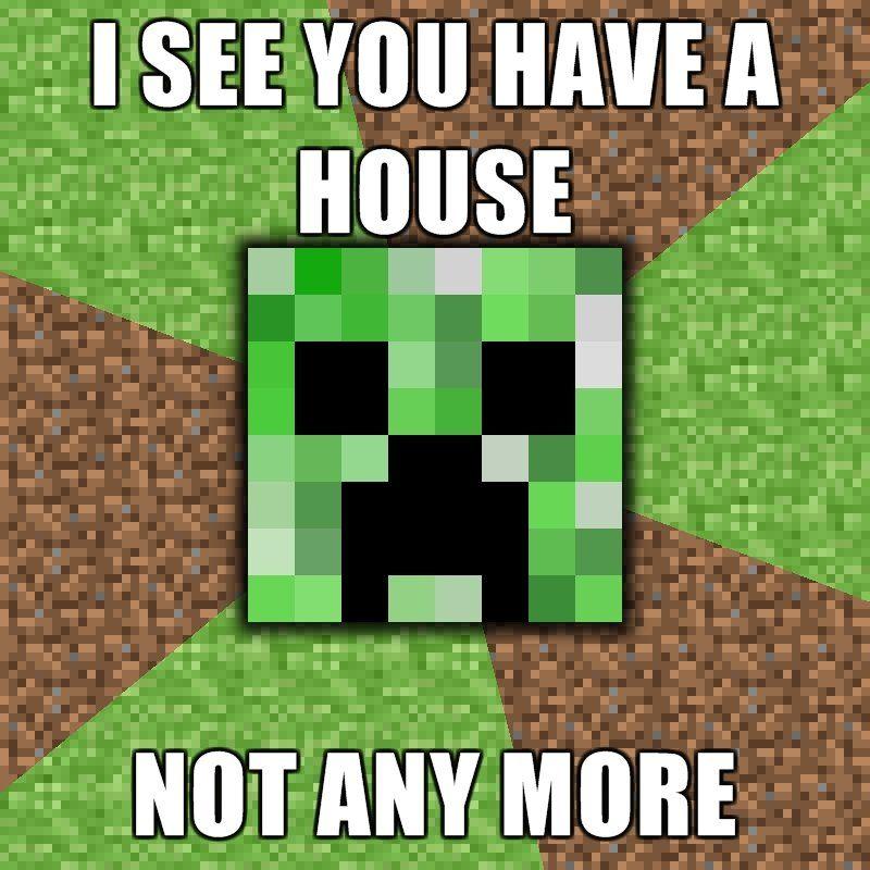 Creeper Minecraft Funny Minecraft Minecraft Wallpaper