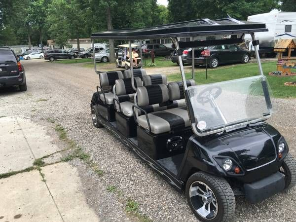 New Golf Cart Limo Golf Cart Limo