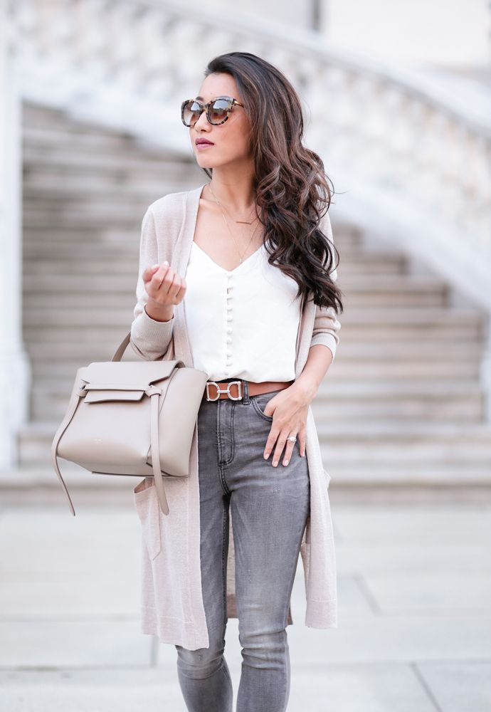 stylish fall outfit ideas petite style blog long cardigan 7e3a59656d863