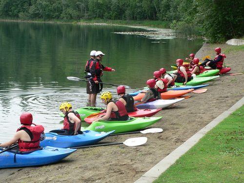 Or choose to kayak instead!