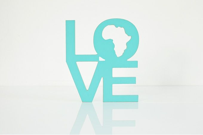 wooden words - love africa by Bokke & Blomme on hellopretty.co.za