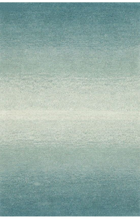 Trans Ocean Ombre Horizon Aqua Rug Contemporary Rugs