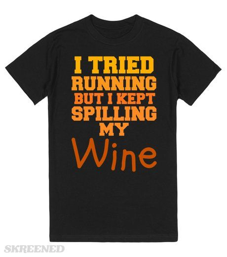 SO I TRIED RUNNING BUT I KEPT SPILLING MY WINE  | I TRIED RUNNING BUT I KEPT SPILLING MY WINE! #Skreened