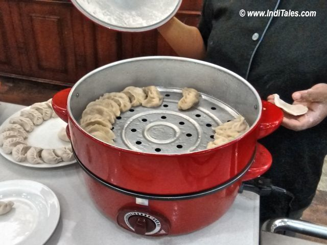 Momo Maker - Locally Known as Motku in Sikkim