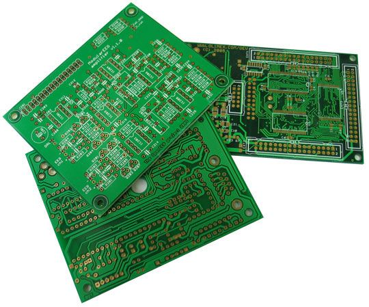 A Printed Circuit Board Can Have Multiple Copper Layers Although Most Of The Pcbs Are Manufactured Printed Circuit Board Printed Circuit Boards Circuit Board