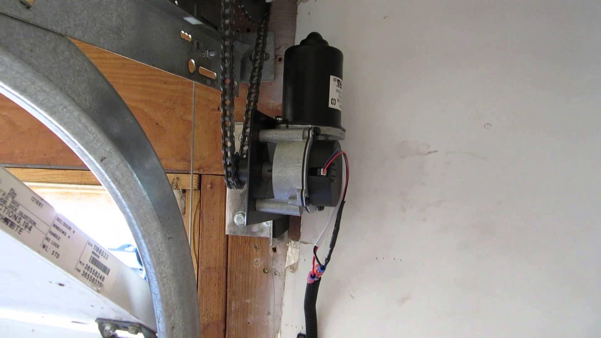 Genie Low Profile Garage Door Opener Side Mount Garage Door