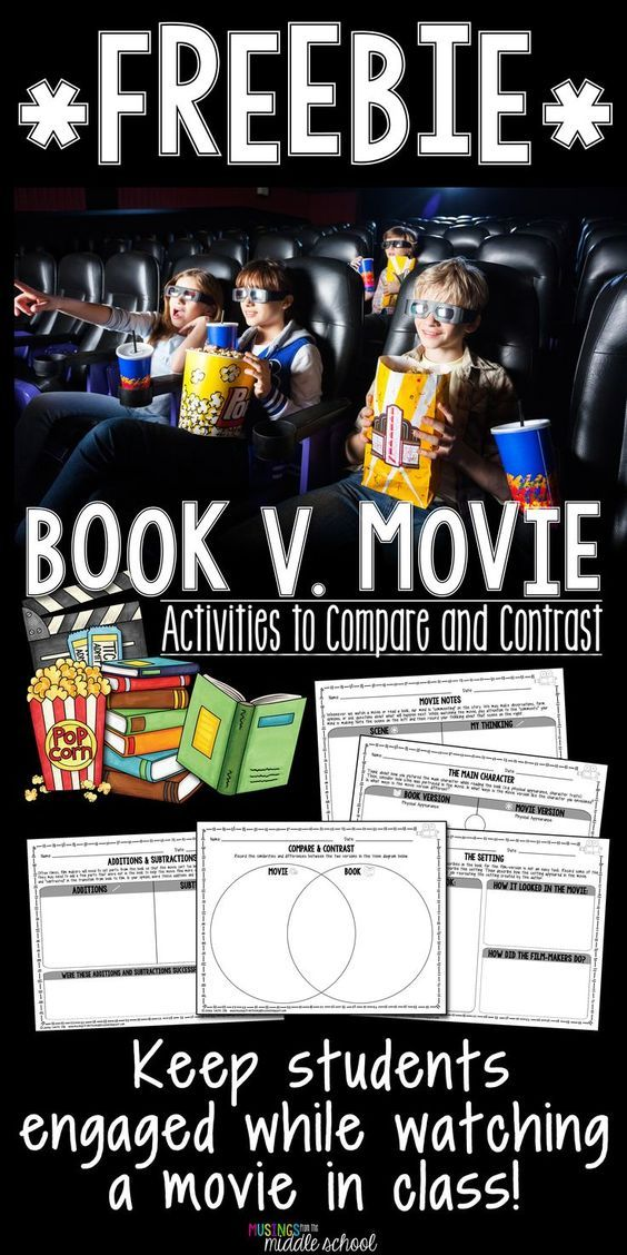 **FREEBIE** Turns watching a movie into a rigorous (and totally justified!) experience!