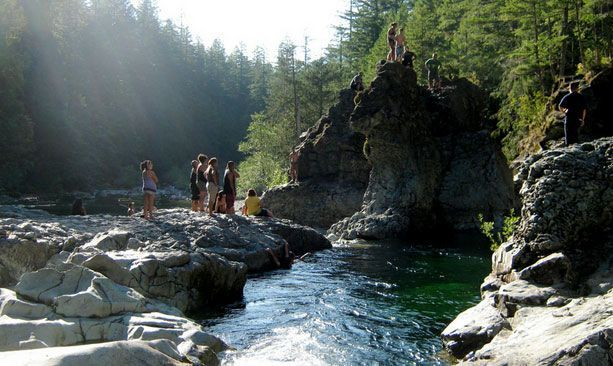 Insider's Guide to Oregon Swimming Holes #traveloregon An Insider's Guide to Oregon Swimming Holes. A perfect activity for a long weekend. #traveloregon