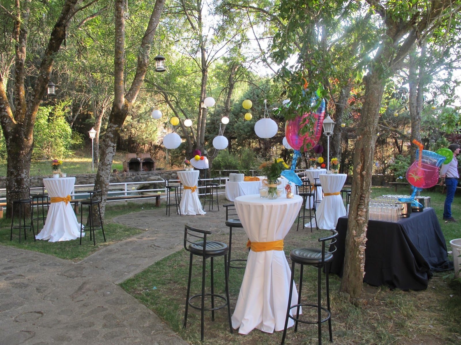 IDEAS DECORACIONES BODA AIRE LIBRE