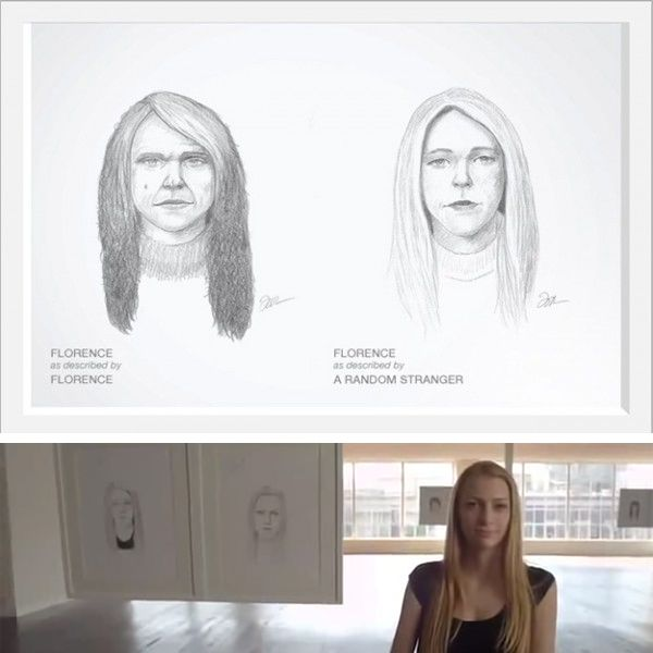 Real Beauty Sketches แคมเปญน ทำให ผ หญ งท กคน สวยข น ม ร ปภาพ