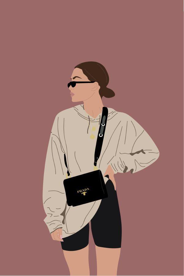 Photo of Illustration Art Girl