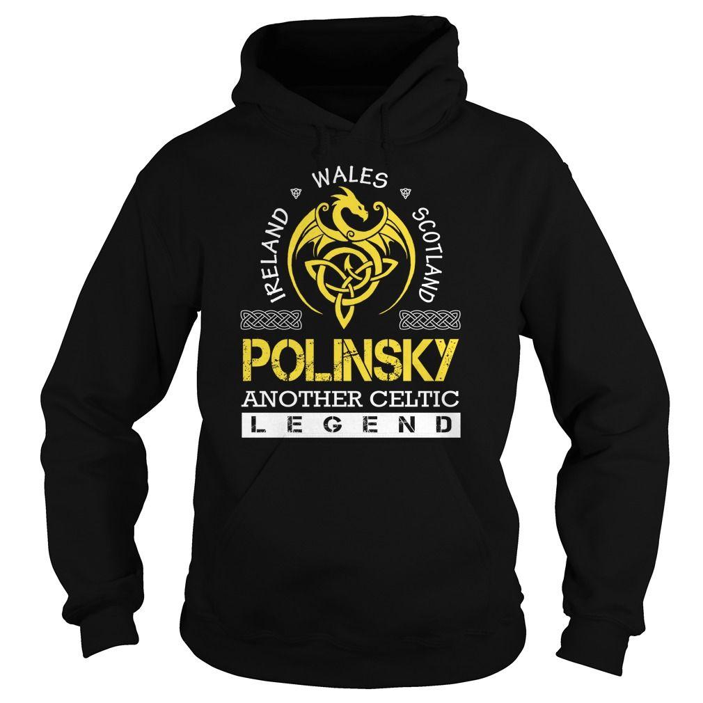 POLINSKY Legend - POLINSKY Last Name, Surname T-Shirt
