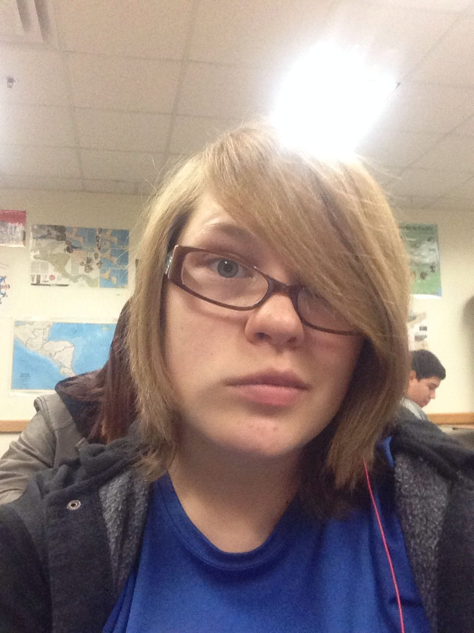 Rocking the new but old hairstyle look like ium in eighth grade