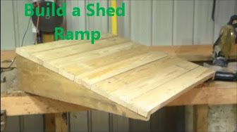 How To Build A Curb Ramp Youtube Innovative Ideas Shed