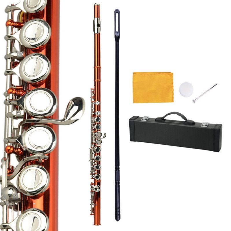Concert Band Flute Pink with Accessories