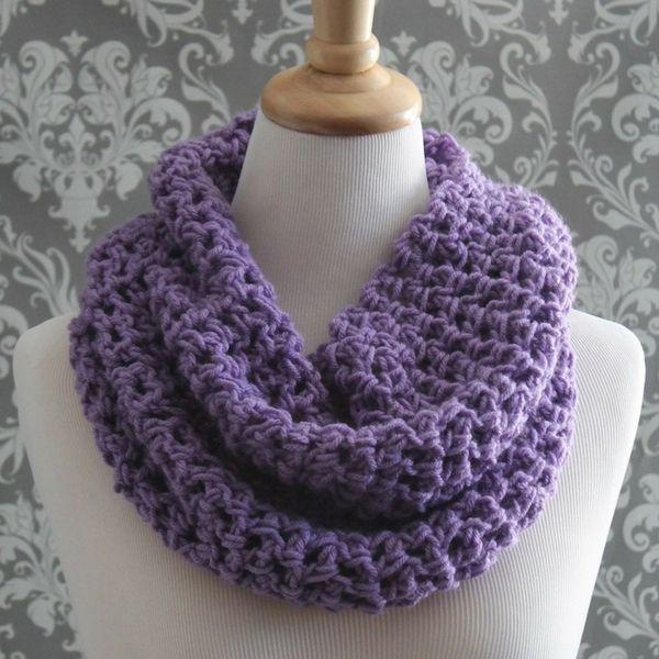 Free Easy Cowl Crochet Pattern | Bufanda cuello