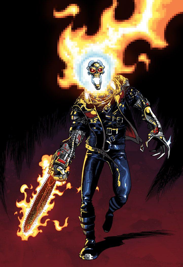Ghost Rider 2099 | My Illustrations | Ghost rider 2099