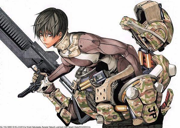 Viz Media Releases Takeshi Obata S All You Need Is Kill Manga