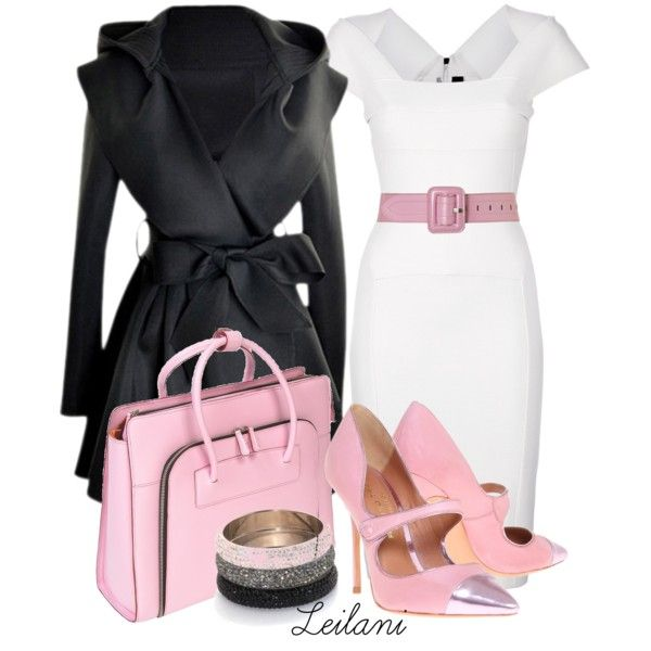 Love my pink, created by leilani-almazan on Polyvore