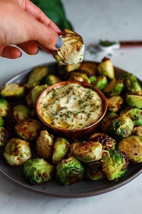 #brussel #sprouts #crispy #dijon #aioli #mandi #with #dash #ofCrispy Brussel Sprouts With Dijon Aioli - Dash of Mandi -Crispy Brussel Sprouts With Dijon Aioli - Dash of Mandi -  These light, golden-brown Broccoli Fritters make a delicious vegetarian dinner or lunch — and kids love them, too! Ready in less than 30 minutes. FOLLOW Cooktoria for more deliciousness!  Buffalo Chicken Wontons, only 6 ingredients and ready in 15 minutes, perfect for game day! from   Cheesy Spinach and Artichoke ... # #buffalobrusselsprouts