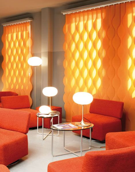 Wavy Vertical Blinds Places Spaces Curtains With