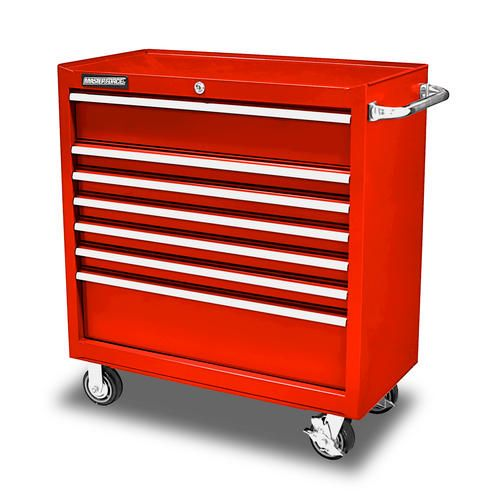 Masterforce 36 7 Drawer Tool Cabinet At Menards 429 00 Tool Cabinet Tool Storage Menards